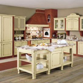 Cucina Classica su due pareti 02
