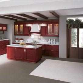 Cucina Classica su due pareti 07