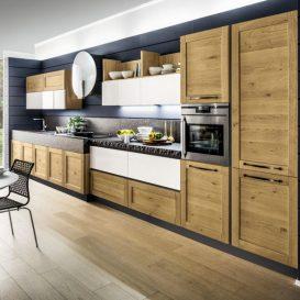 cucina moderna su parete unica