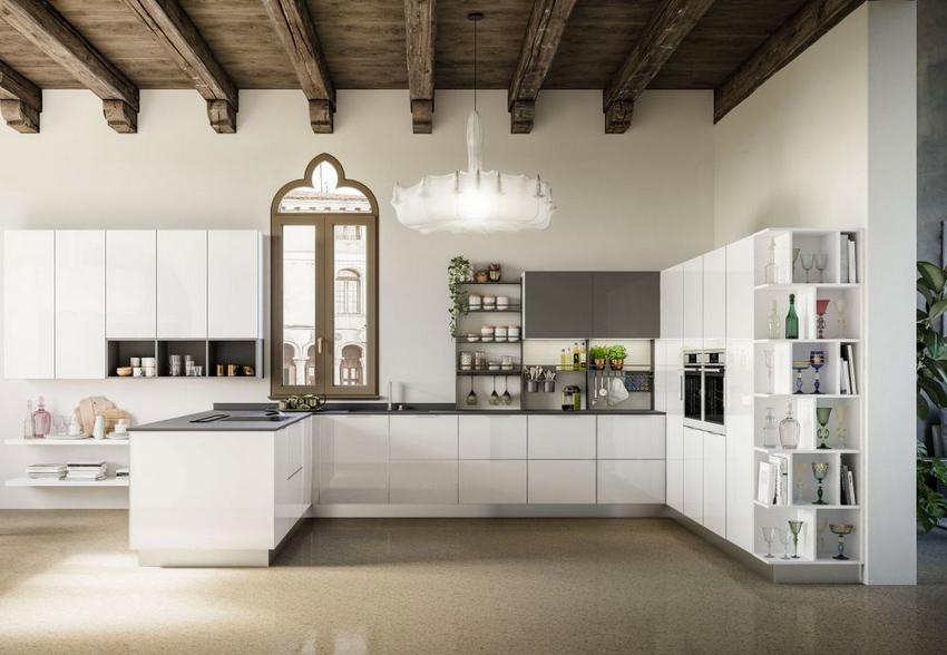 Hf arredamenti genova cucine moderne lineari e ad angolo for Cucine e arredi genova